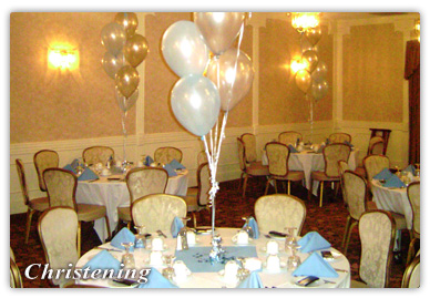 Christening in the Ballroom